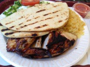 Chicken and Pita Bread